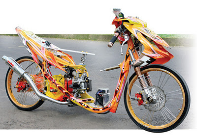 mio drag bike modif