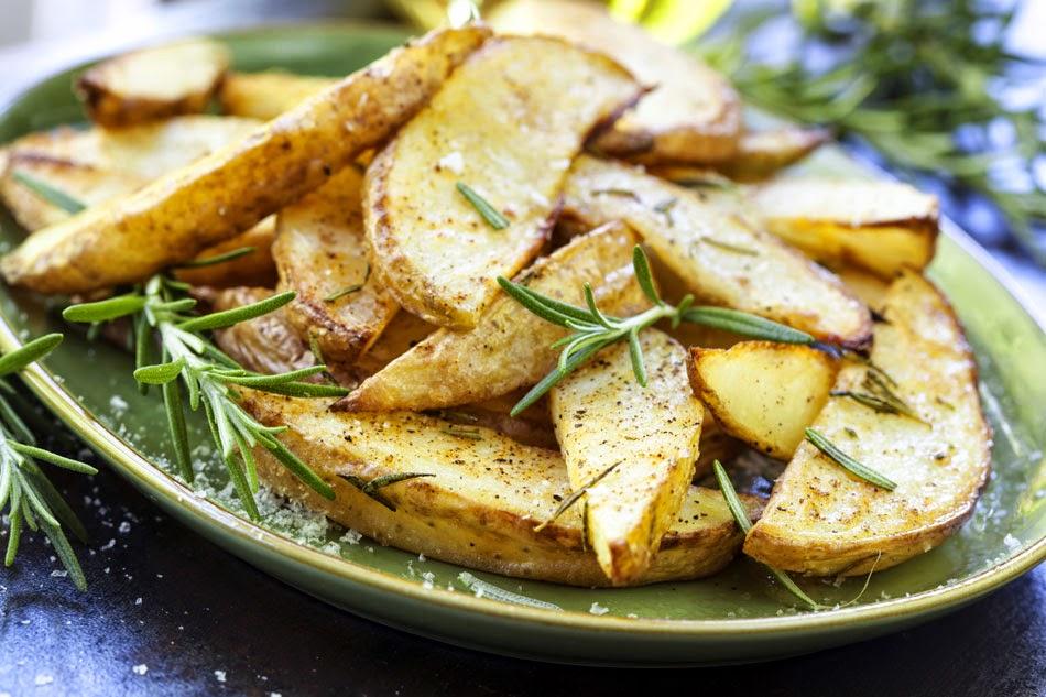 طريقة عمل ويدجز البطاطس