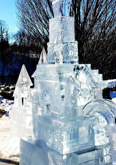 Ice Carving Castle