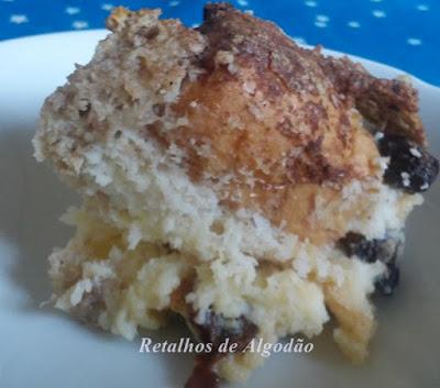 Rabanada deliciosa que parece uma torta