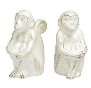monkey salt & pepper shakers