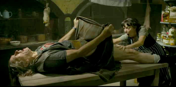 Disturbing movie sex scene
