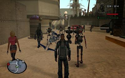 gta San Andreas Alien City  gameplay