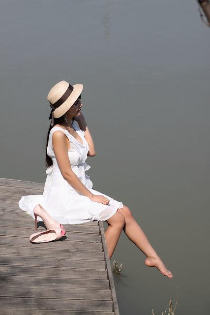 1 Cha Sun Hwa - Summer White-very cute asian girl-girlcute4u.blogspot.com