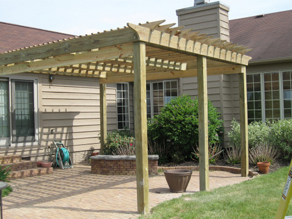 simple tips on how to build a pergola. Black Bedroom Furniture Sets. Home Design Ideas
