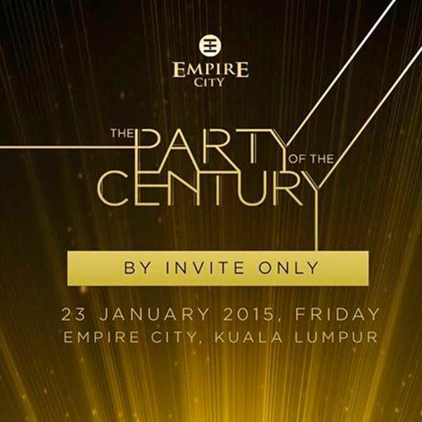 The Party Of The Century by Empire City, Damansara Perdana