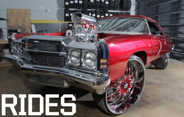 Incrivel Chevy Impala ano 72 modificado