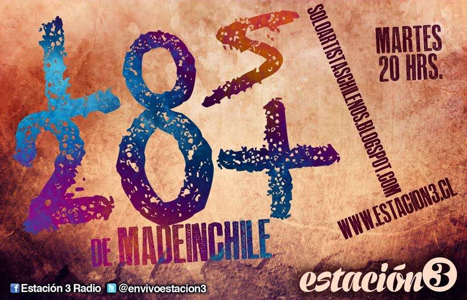 "Vota: Ranking ""Los20+ Made In Chile"""