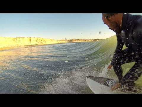 On my way to explore surf in Mauritania by Kepa Acero