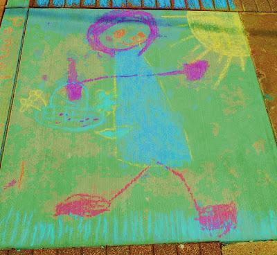 Sidewalk Chalk Competition Entry