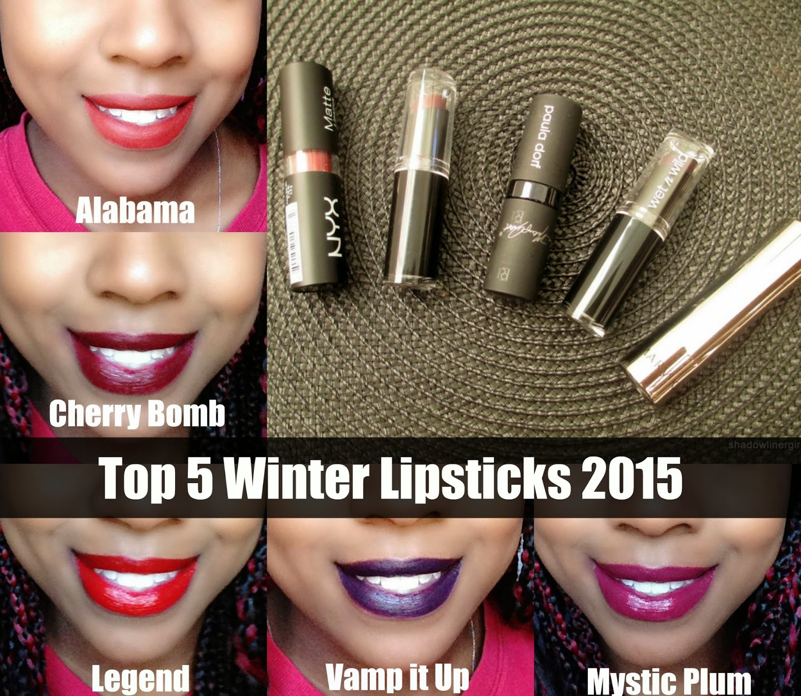 Top 5 Winter Lipsticks 2015