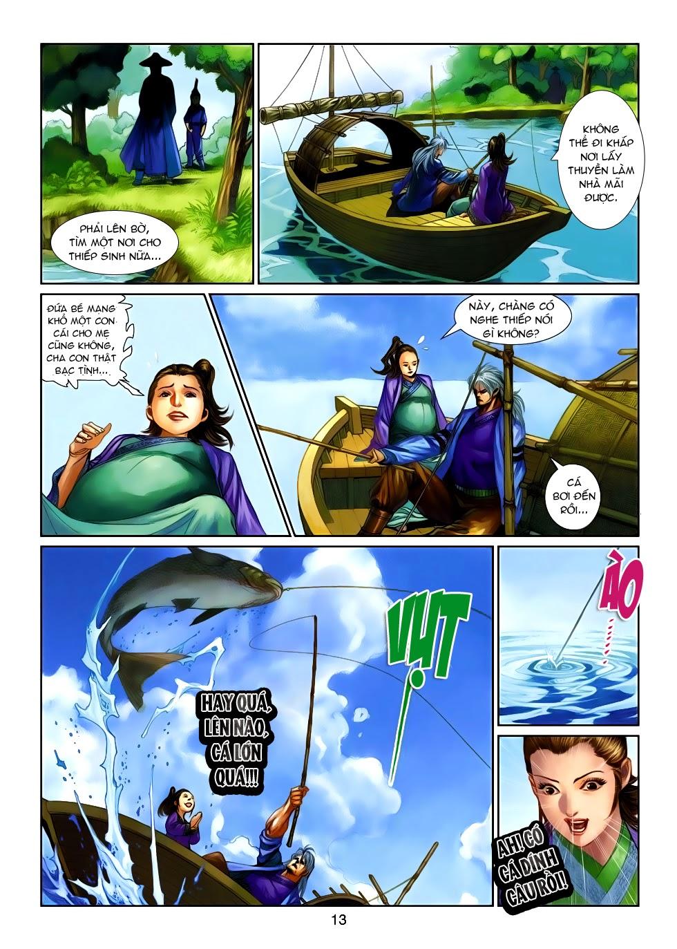 Thần Binh Tiền Truyện 4 - Huyền Thiên Tà Đế chap 14 - Trang 13