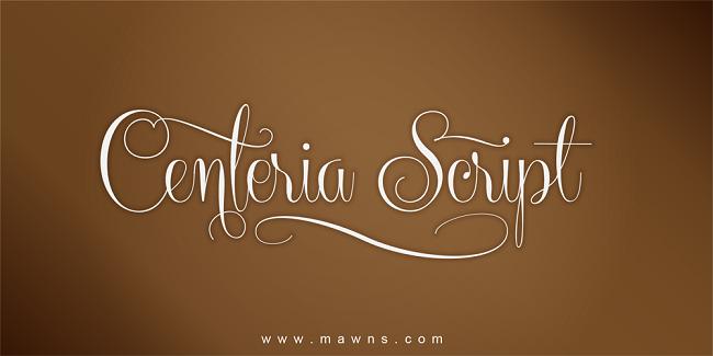 Kumpulan Font Undangan - Centeria Font