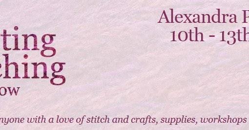 Knitting And Stitching Show Twitter : Knitting and Stitching Show at Alexandra Palace