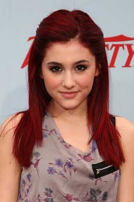 Ariana Grande Hairstyle Color