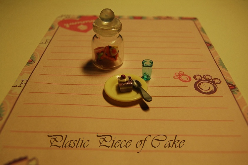 Plastic Piece Of Cake