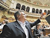 Ο Ελληνας βουλευτης της Ελβετιας