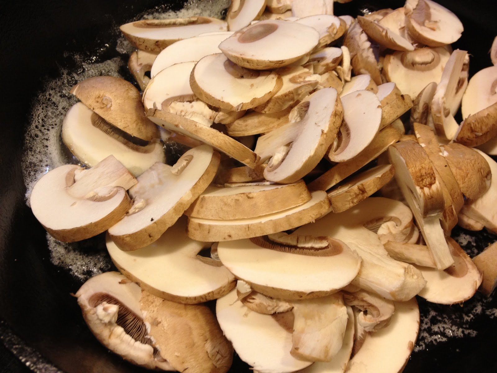 Derek on Cast Iron - Cast Iron Recipes: Recipe: Chicken with Mushrooms ...
