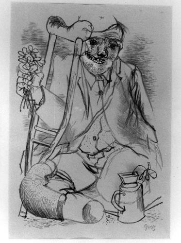 Resultado de imagem para O herói - George Grosz