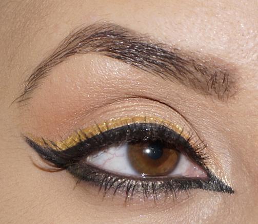 Gold-&-Black-Liner-MOTD-Pink-Orchid-Makeup