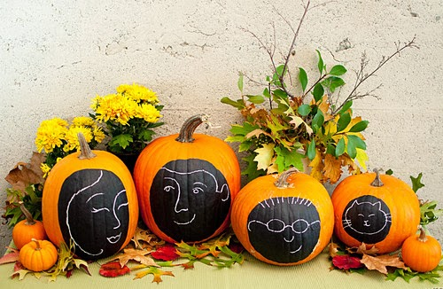 Modern Furniture: 2013 Easy and Quick Indoor Halloween - Indoor Pumpkin Decorations