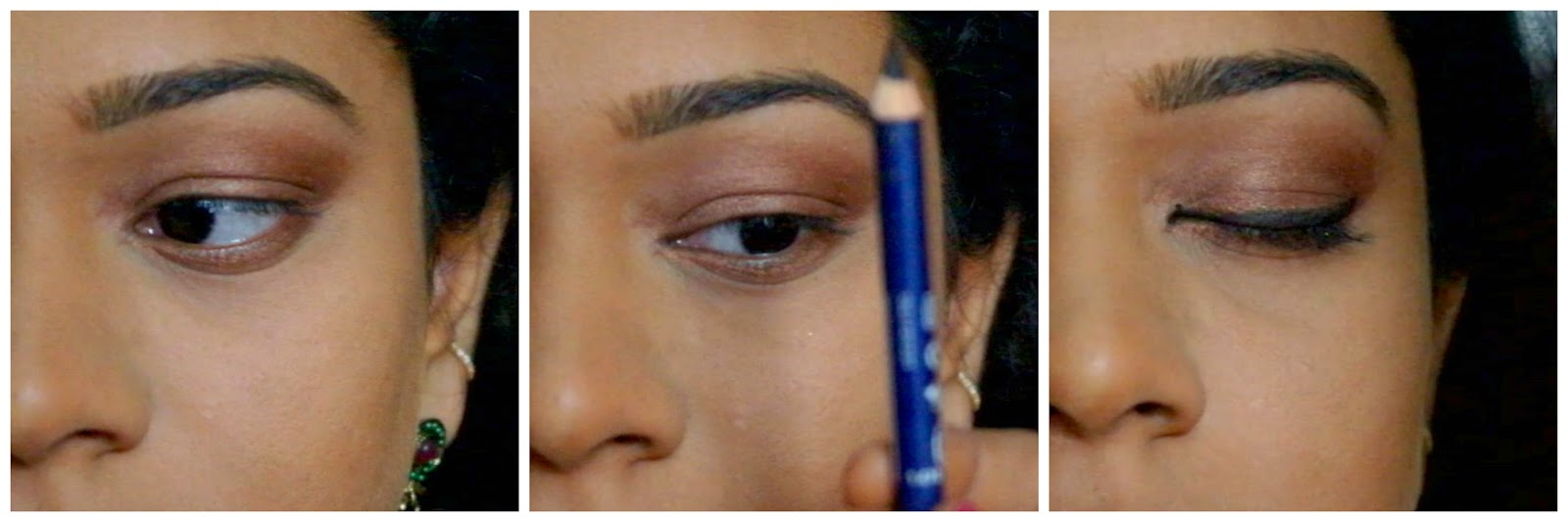bridal eyemakeup-bridal eyemakeup tips-bridal eyemakeup tutorial-bridal eyemakeup pics-bridal artist in chennai-simple eyemakeup tutorial-simple eyeshadow tutorial-eyeshadow using colored eyeliner pencils-eyeshadow using khol pencil