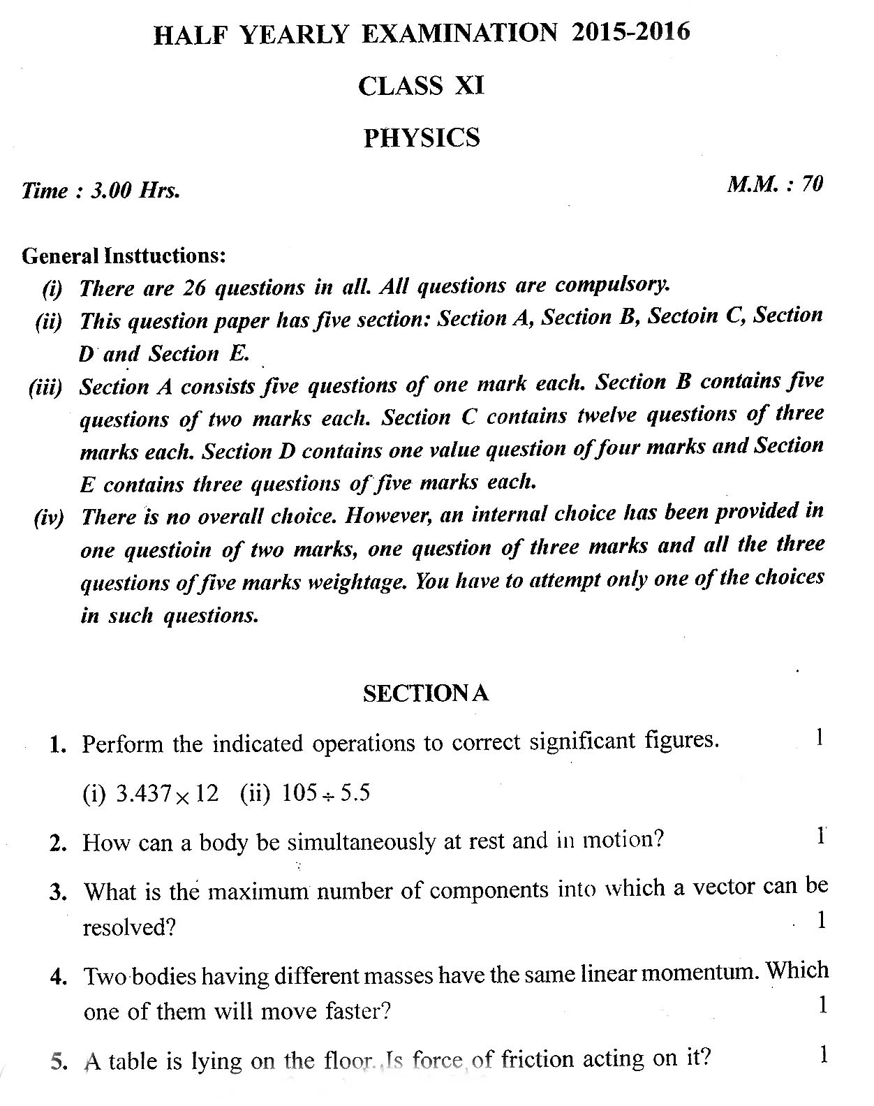 Science4all class xi physics bharatiya vidya bhavan school half class xi physics bharatiya vidya bhavan school half yearly question paper 2015 2016 malvernweather Image collections