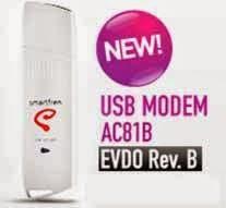 spesifikasi Smartfren USB MODEM Rev. B AC81B