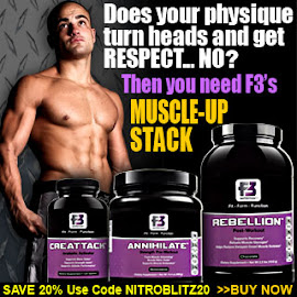 Muscle Up with F3 Nutrition!