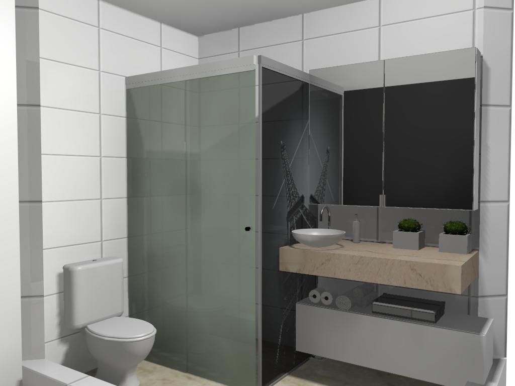 ARQ ELOISA MONDI  Projetos, obras, decoração, aprovaçoes Reforma de banheiro -> Decoracao De Banheiro Com Vaso Sanitario Preto
