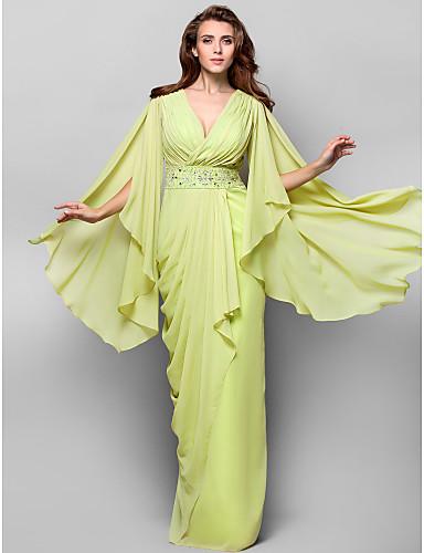 Vestido de Fiesta Verde Lima
