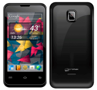 Micromax A87 Superfone Ninja 4 dual SIM smart phone