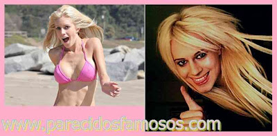Parecido entre Chris Crocker y Heidi Montag