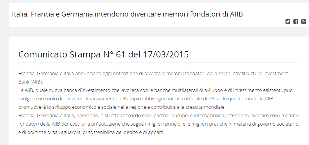 infrastructure investiment bank italy