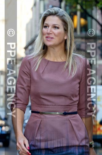 Queen Máxima of the Netherlands on Thursday in The Hague attended the start of 'Work Week'