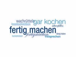 Немецкие неправильные глаголы