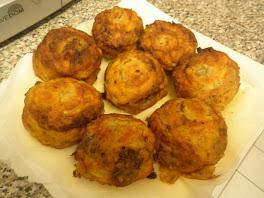 coeurs d'artichauts farce oignons, viande, persil, coriandre, mie de pain