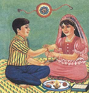 Raksha Bandhan 2014 Wallpapers Images of Rakhi History and Myths
