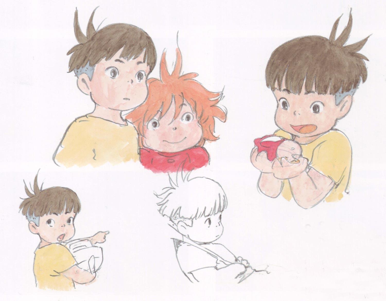 Living Lines Library 崖の上のポニョ Ponyo 2008 Character