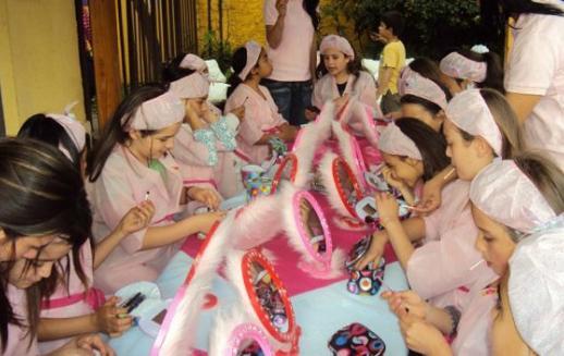 Day Spa: una fiesta de cumpleaños sólo para niñas | Mi Kinder