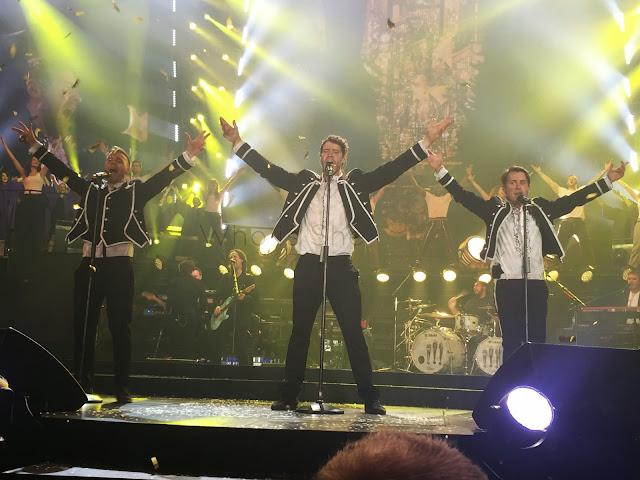 Take That Tour Metro Radio Arena Newcastle