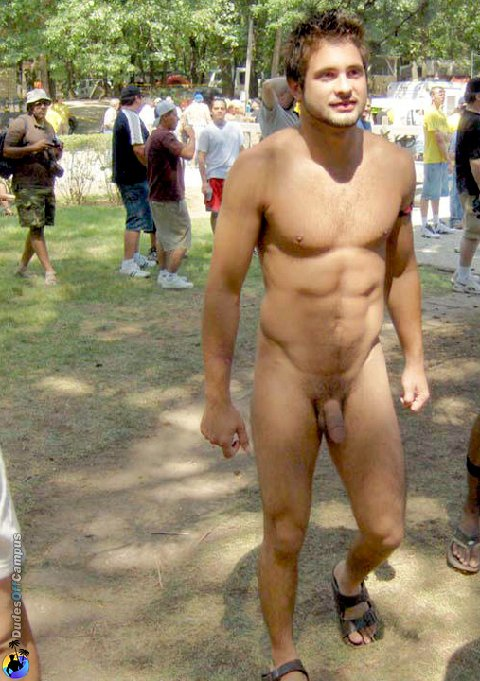 Best In Men: Amazing public nudity