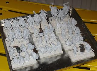 l'armée du Gondor enfin soclée