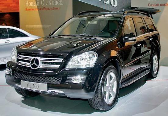 Mercedes Benz Gl500 Car Overview