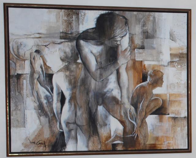 nude painting by Jonas Gerard