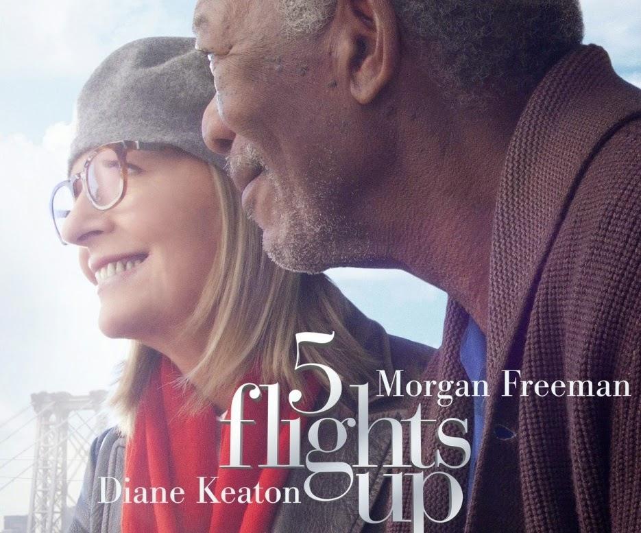 5 flights up 2015 movie poster starring morgan freeman