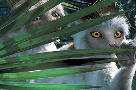 Lemurs Dinosaur 2000 animatedfilmreviews.blogspot.com