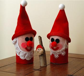 Juice Can Santas