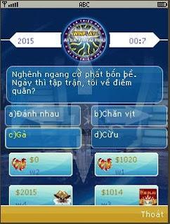 Mạng xã hội WINPLAY cho điện thoại Java