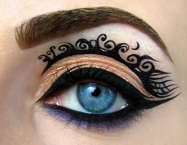 Eye-Makeup Illustrations by Tal Peleg 4